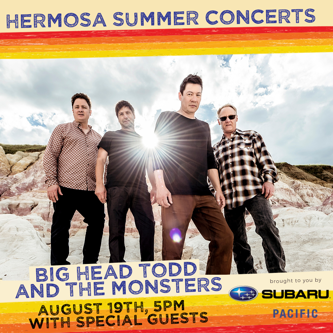 BHTM headed to Cali for the Hermosa Beach Summer Concerts Series on Aug. 19th!
