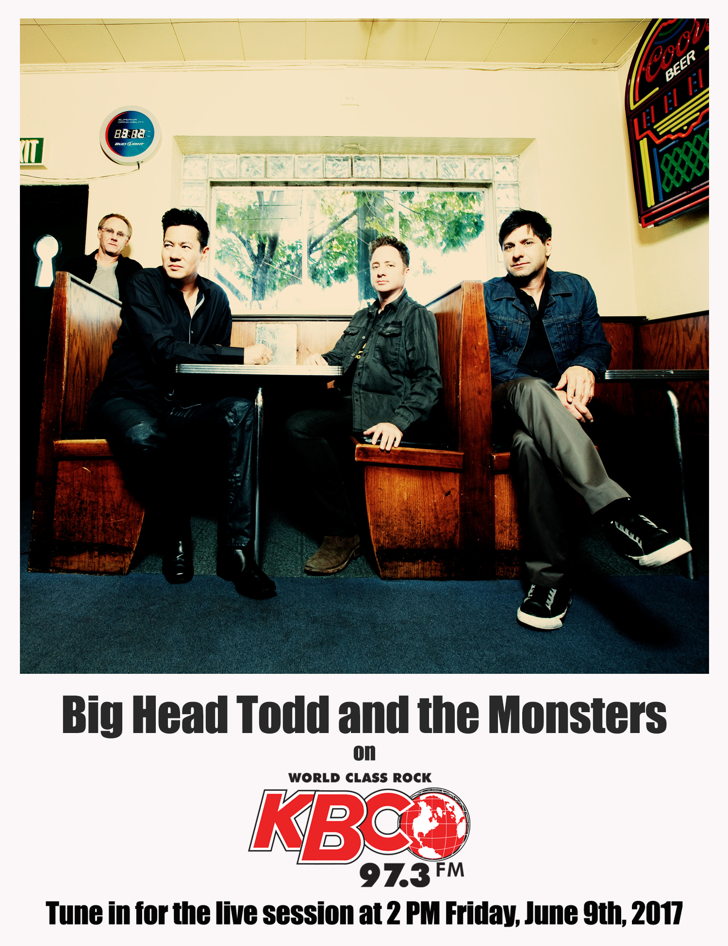 Big Head Todd returns to KBCO Studio C this FRIDAY!!