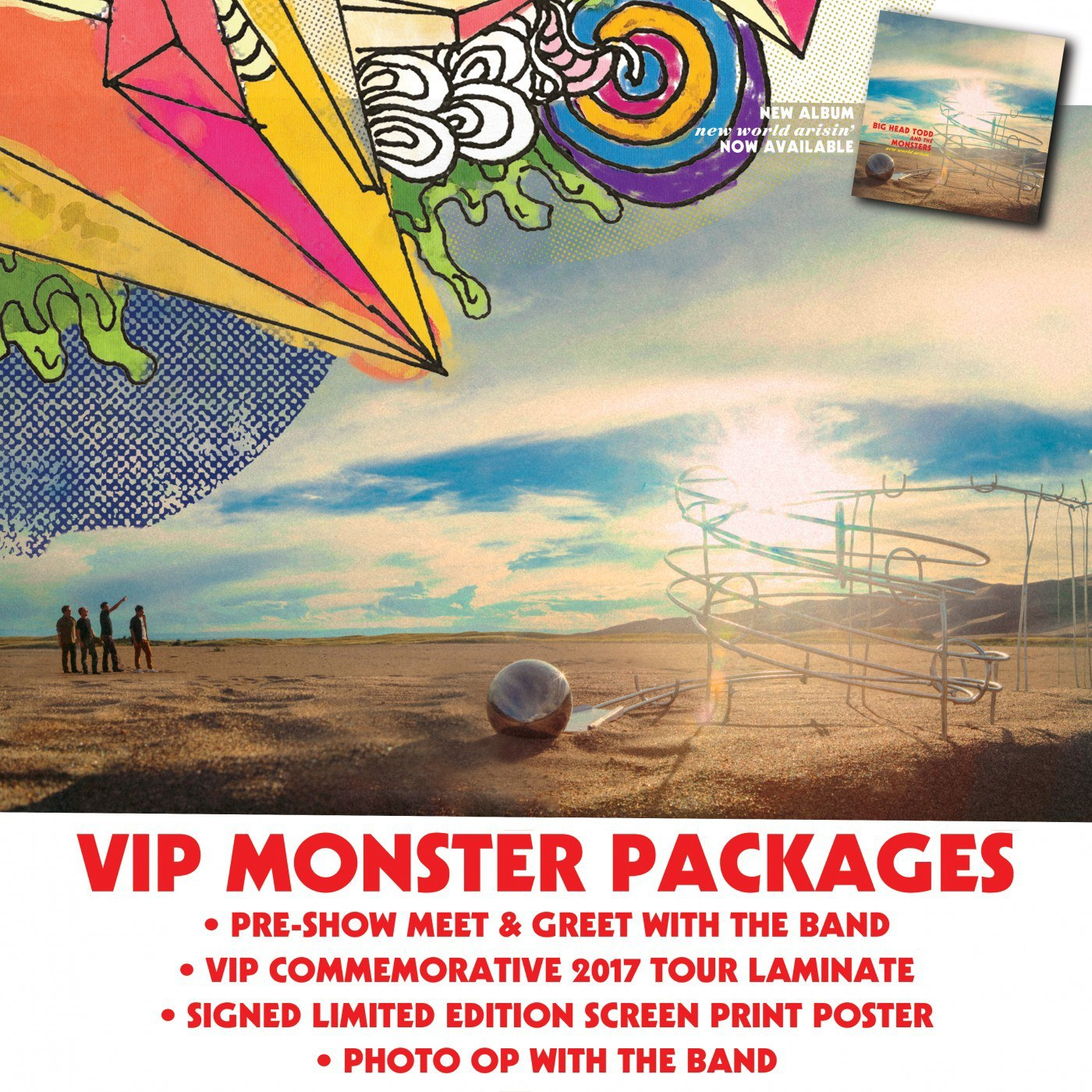Grab your VIP Monster Packages for our North American Tour HERE!