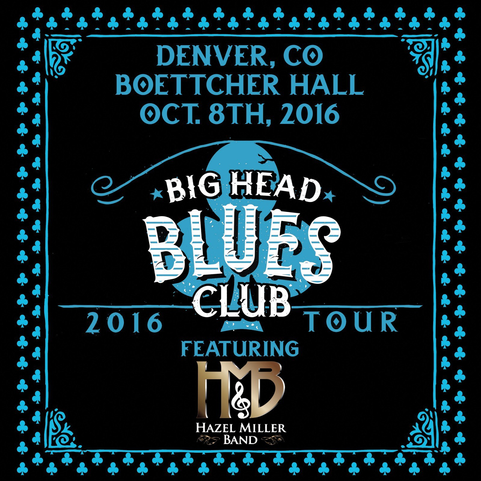 Hazel Miller Band to Join Big Head Blues Club in Denver on Oct 8th