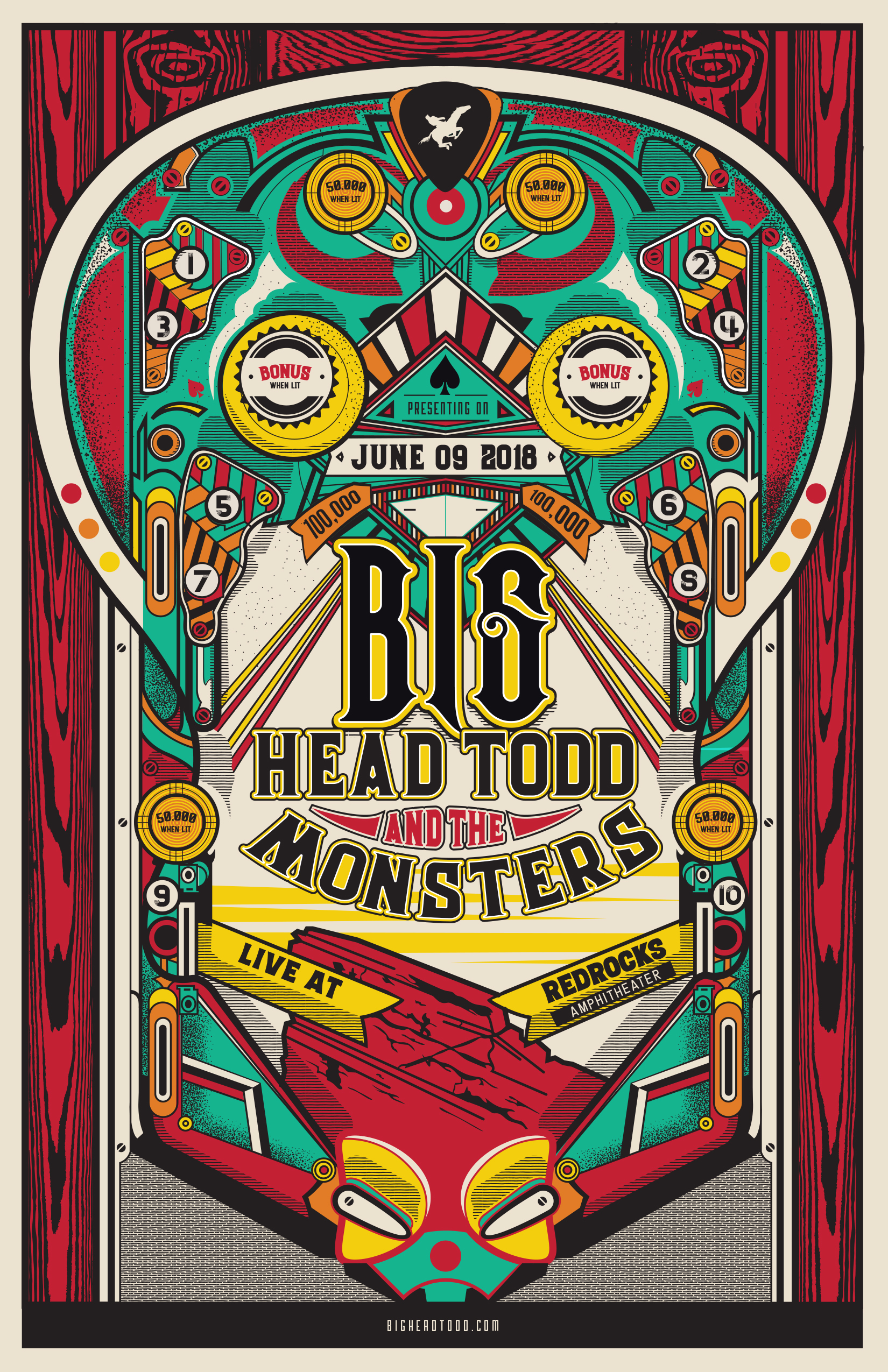 SUMMER ANNOUNCEMENT : Big Head Todd returns to Red Rocks on June 9th! Pre-Sale tickets available TOMORROW 1/22!