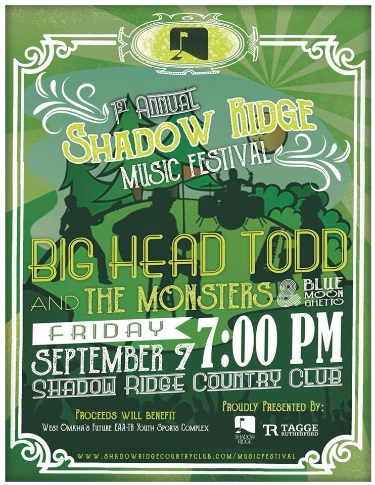 Big Head Todd headed to Omaha on Sept. 7th for Shadow Ridge Music Festival!