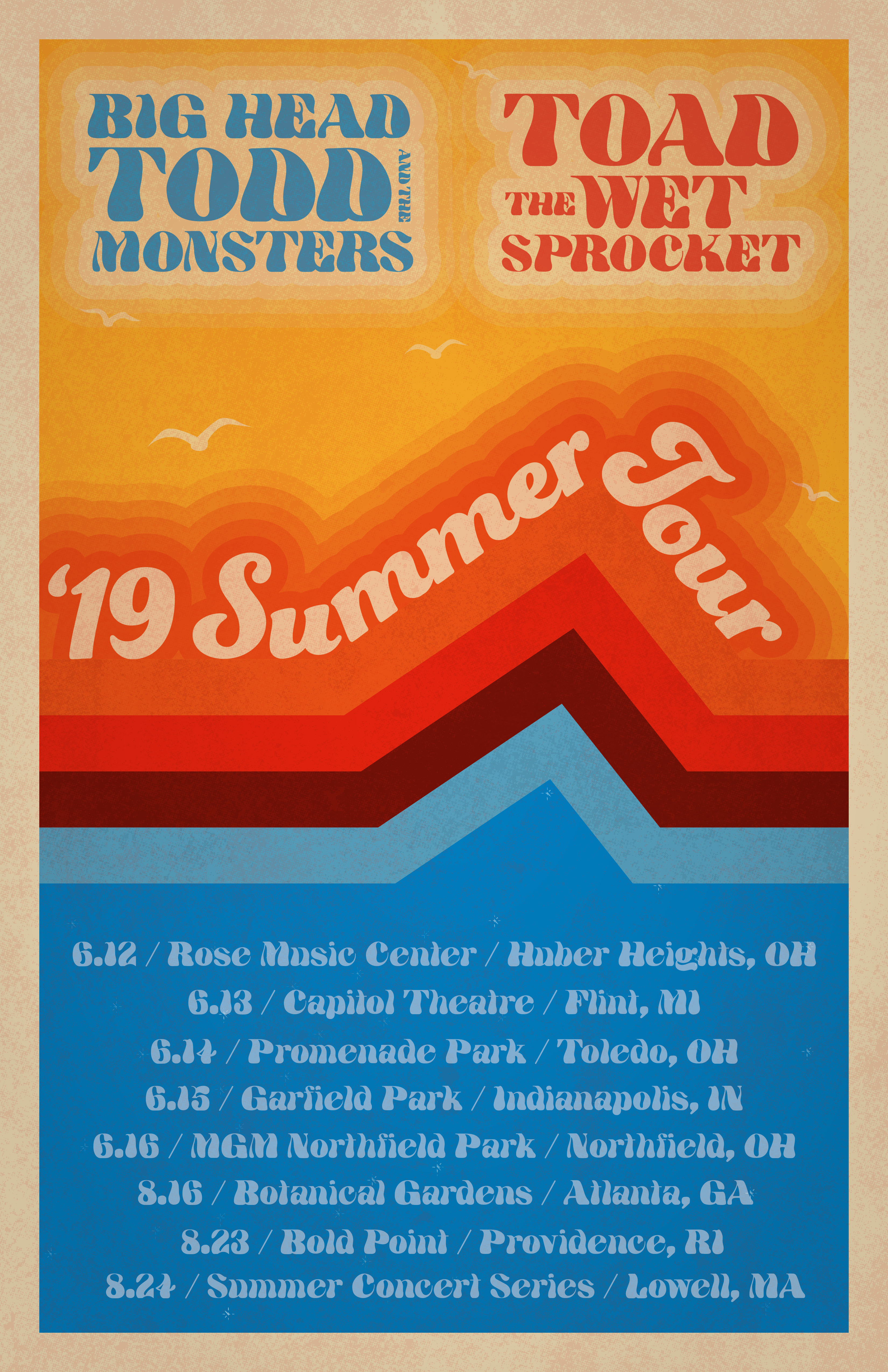 Summer Tour Announced: BHTM + Toad the Wet Sprocket
